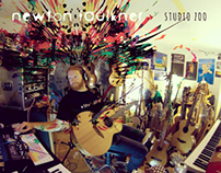 Newton Faulkner - Studio Zoo: Album Cover
