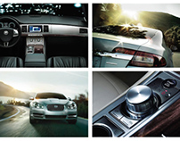 Magazine Spread: Jaguar XF