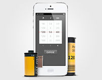 Lghtmtr - iOS App for Film Photography