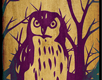 Owl Sock Design