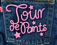 "TOUR DE PANTS ""Spoke Card"""