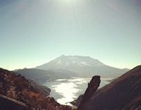 Mt. St Helens and Clear Lake