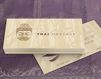 Thai Massage Business Card