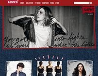Redesign Website - Levi's Malaysia