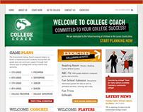 College Coach Website