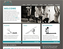 Tonic Yoga and Pilates Website
