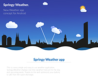 Springy Weather App