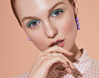 Make Up Editorial - Beauty Retouch