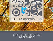 QR Code Design - LG Optimus G