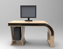 Retro Computer Table