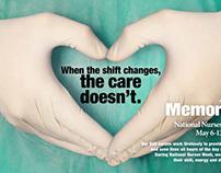 National Nurses Week at Memorial Hospital