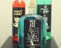 Back Road Distillery - Logo, Labels, Packaging.