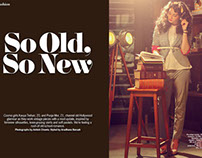 Cosmopolitan : So Old, So New