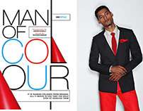 Men's World : MAN OF COLOUR
