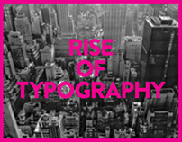 Rise of typography