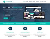 JM Consilium - Responsive Joomla Template