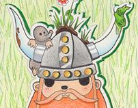 Un vikingo en el jardin de Annie M. G. S.