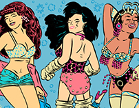 TEASE-O-RAMA! A Burlesque Night Poster W.I.P