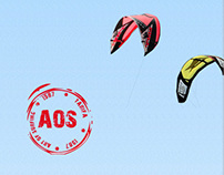 Website Aos kitesurf school