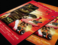 Christmas & NYE Party Flyer Templates