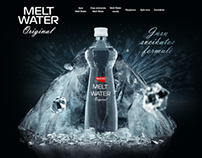 Melt Water. High Quality Table Water