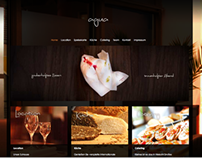 Restaurant Agua | WordPress Template Design and Coding