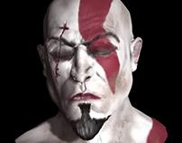 Kratos - God OF War - 3d Sculpt