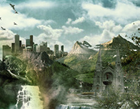 A Breathetaking Matte Painting