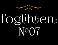 Free font FoglihtenNo07