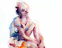 Watercolor Sketches-Figures