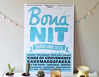 Poster // Bona Nit Barcelona 2013