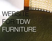 WEB DESIGN: TDW Furniture Pvt. Ltd.
