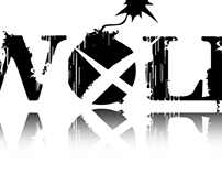 Logotype for rock band WOLF