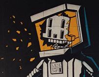 Mural for Street Art Festival Istanbul 2013
