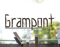 Grampont - True Type Font