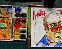 Hunter Thompson.