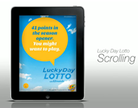 Illinois Lottery - iPad Ads