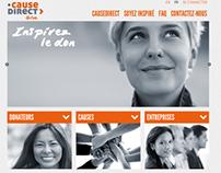 Causedirect.org website v1