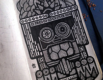 Little Black Moleskin Sketchbook