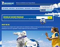 Michelin Soccer Website