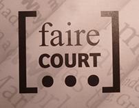 Faire court : Nouvelle / texte bref / court métrage