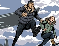 "Comic in motion  ""Arctic Adventure Air"""