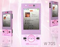 3D Modelling - Sony Ericsson W705
