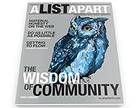 Editorial Design: AListApart magazine