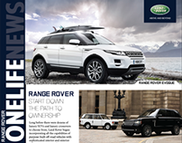 Land Rover OneLife Newsletter