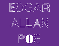 Bookdesign for Edgar allen poe short stories