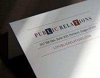 LT Public Relations Identity