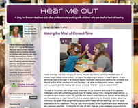 Hear Me Out: A Blog for Teachers of the Deaf