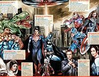 Illustration proyect, Cine Premiere Magazine