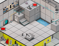 Portal level - Isometric